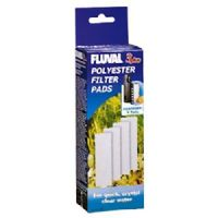 Fluval 3 + Plus Poly Polyester Filter Pad Genuine Product Pack of 4 X3